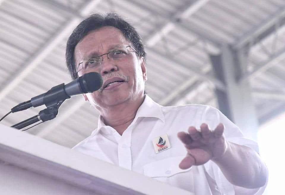 Shafie Afdal umum Dewan Undangan Negeri (DUN) Sabah bubar