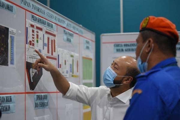MB dan Exco Kesihatan Kedah pantau dan dapatkan taklimat dari pusat kuarantin
