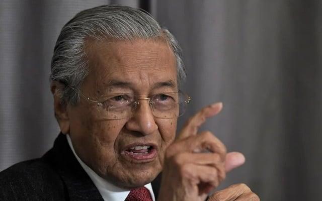 Parti baru Tun M akan umum calon PRK Slim