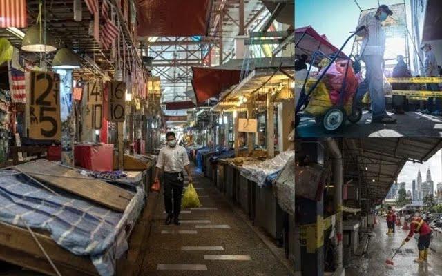 Baru bermula PKPB, Pasar Chow Kit pula ditutup 14 hari