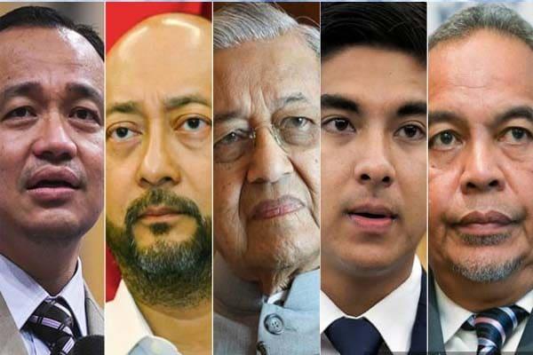 Tolak Muhyiddin sebagai PM, Bersatu pecat Tun M dan 4 ahli parlimen