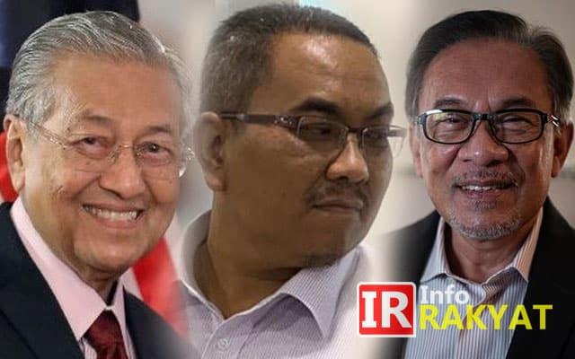 Sanusi tiada kredibiliti, cari publisiti murahan dengan kritik Mahathir-Anwar