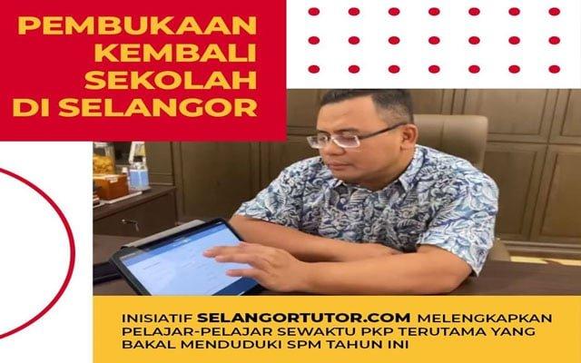 Inisiatif SelangorTutor.com waktu PKP lengkapkan pelajar tingkatan 5 untuk duduki SPM
