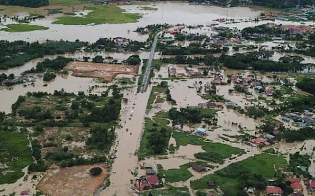 Mangsa banjir di Sabah meningkat, lebih 1000 orang terjejas