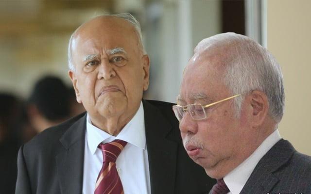 Kes pindaan audit 1MDB : Najib mahu singkir Sri Ram dari pasukan pendakwaan