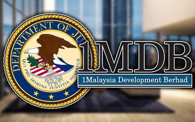 Skandal 1MDB : DoJ dapat aset USD AS$1Bil
