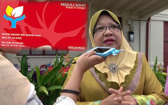 Kerajaan PN Melaka hentikan serta merta Kad Peduli Sihat diperkenal PH