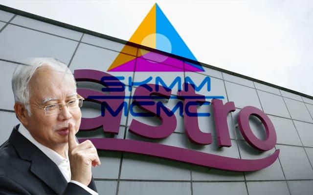 Astro didenda siar dokumentari burukkan Najib