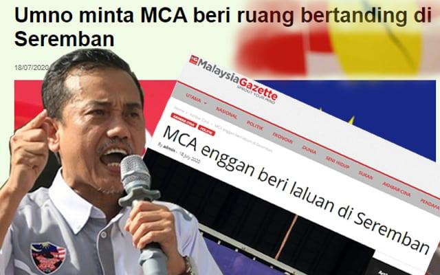 Umno jangan bagi muka pada MCA bertanding di Seremban – ISMA