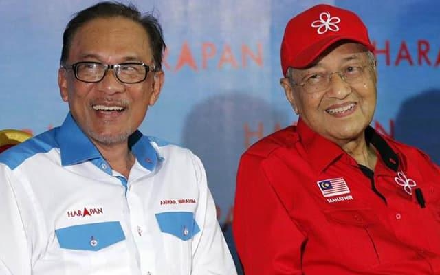 Runding blok Tun M : Tiada masalah, benda boleh bincang kata Anwar