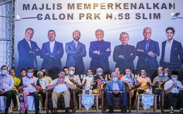 Pemimpin Pejuang hargai kesungguhan pemimpin PH bantu kempen di Slim