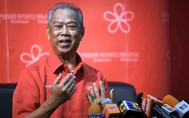 Muhyiddin lantik dirinya sendiri sebagai ketua Bersatu Johor