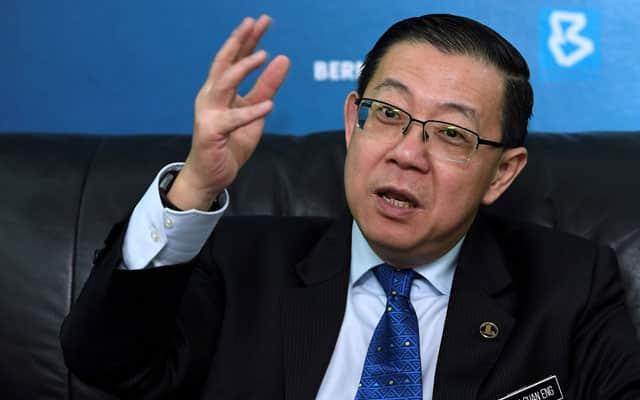 Marah sahaja DAP, berhenti serang Veveonah – Lim Guan Eng
