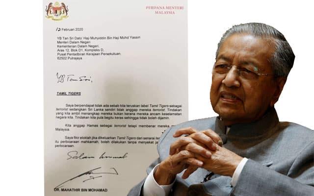 Jika k'jaan PN rasa LTTE pengganas, dakwalah – Tun M