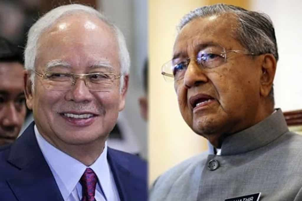 Tak bagi Umno tumbangkan PN tapi dia hantar usul undi tak percaya, Najib 'sound' Tun M