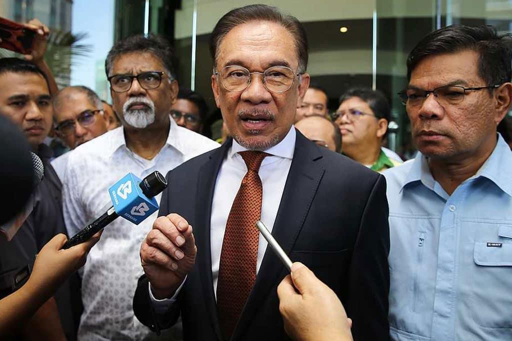 YDP Agong perkenan Anwar menghadap Selasa hadapan