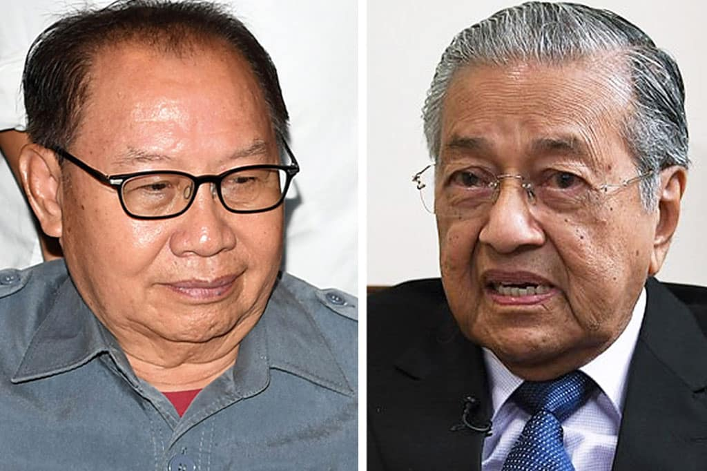 Mahathir hanya ada 5 ahli parlimen, tak logik nak jadi PM balik – Jeffrey Kitingan
