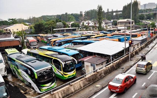 Kos operasi syarikat bas ekspress RM 5 juta sebulan, kini tiada pendapatan
