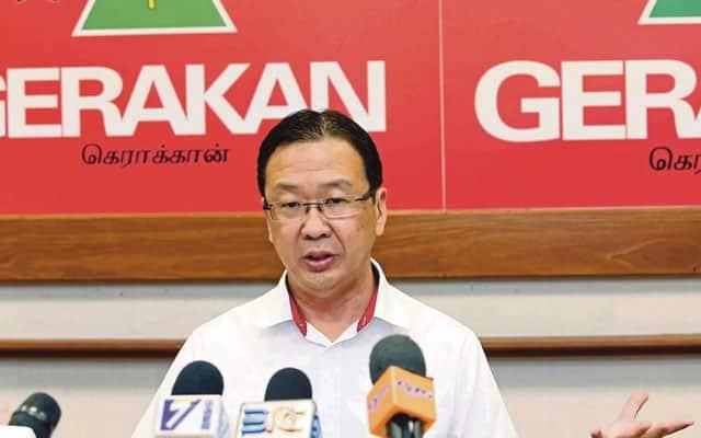 Parti Gerakan sokong pelaksanaan GST dengan kadar 3%