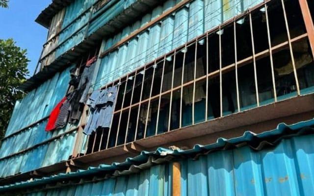 KEJAM   781 pekerja tinggal dalam 2 blok kontena, kilang sarung tangan diarah tutup