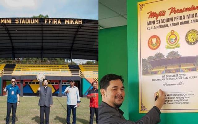 Pegawai Daerah nafi nama stadium 'Ffira Mikah' adalah namanya diterbalikkan