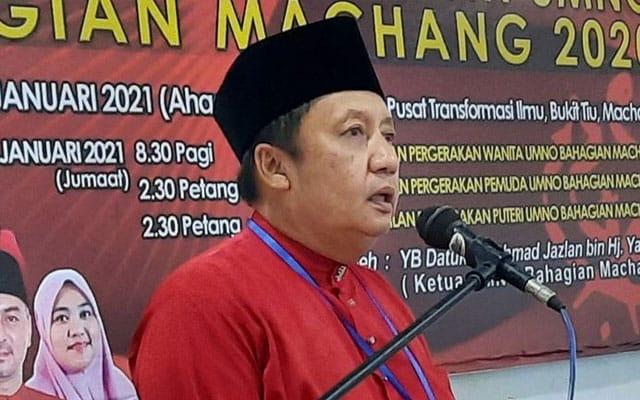 Gempar !!! Ahli Parlimen Machang umum tarik sokongan terhadap Muhyiddin sebagai PM