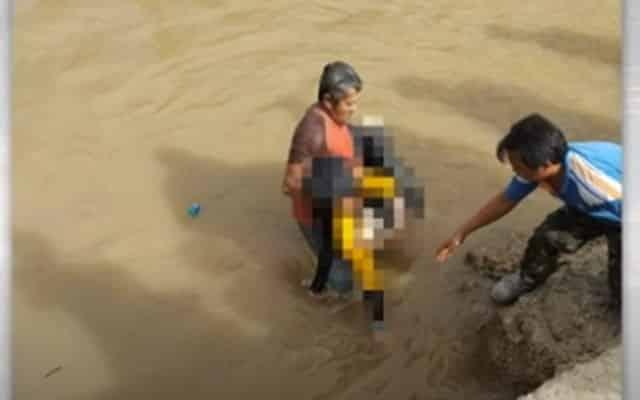 Bayi empat bulan antara sembilan ahli keluarga yang terkorban kereta jatuh sungai
