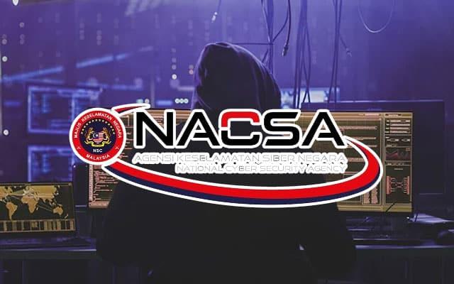 Amaran NACSA : Ancaman serangan siber godam laman web kerajaan