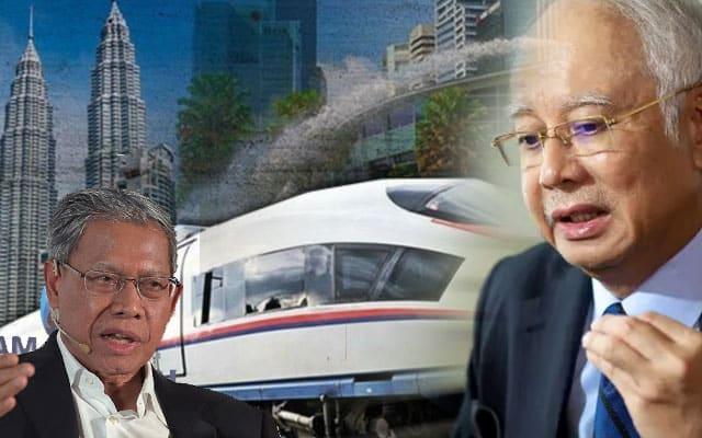 HSR : Kita terpaksa bayar pampasan kepada Singapura kerana sikap kerajaan PN – Najib