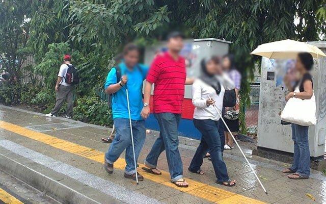 Persatuan orang buta buat pungutan derma, bantu OKU terjejas kerana PKP