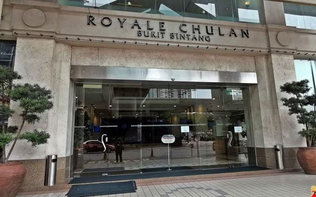 Hotel Royal Chulan milik Boustead dijual kepada syarikat tersenarai Singapura dengan harga lebih murah