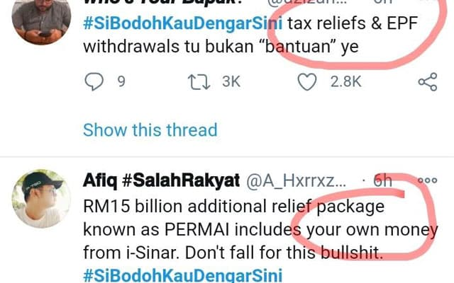 Terkini !!! '#SiBodohKauDengarSini' trending di Twitter