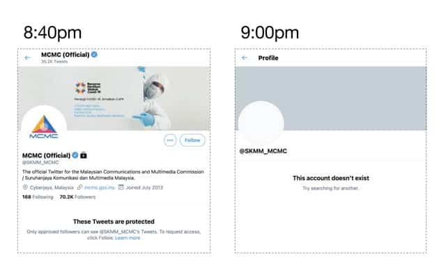SKMM kantoi 'beli' akaun twitter budak tingkatan 3 jadikan akaun rasmi