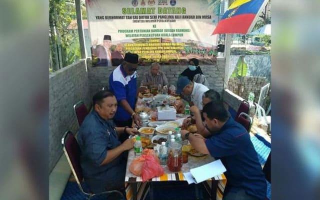 Gambar tular menteri makan, penganjur mengaku langgar SOP