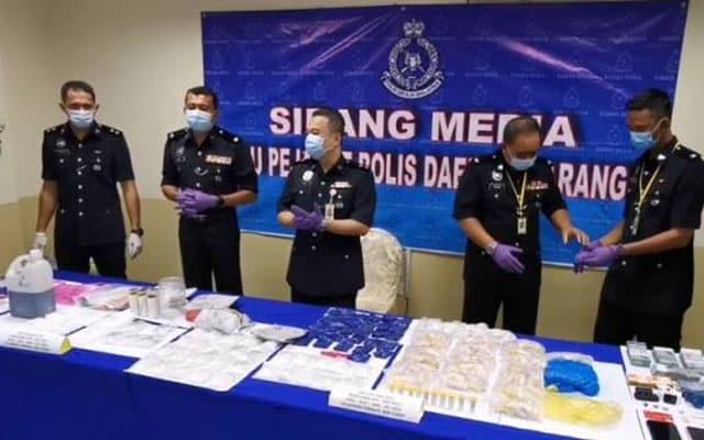 Pasangan dicekup dengan dadah setengah juta ringgit di Marang