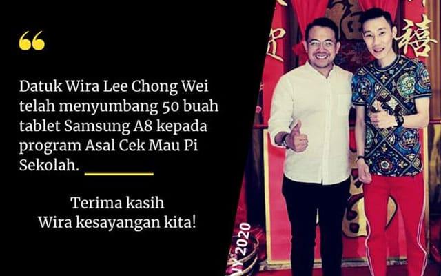 50 tablet bakal disumbang Lim Chong Wei – MP Bukit Mertajam