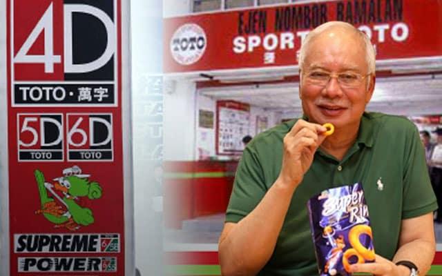 Bukan setakat nombor ekor, semua jenis perjudian turut dibenarkan beroperasi – Najib