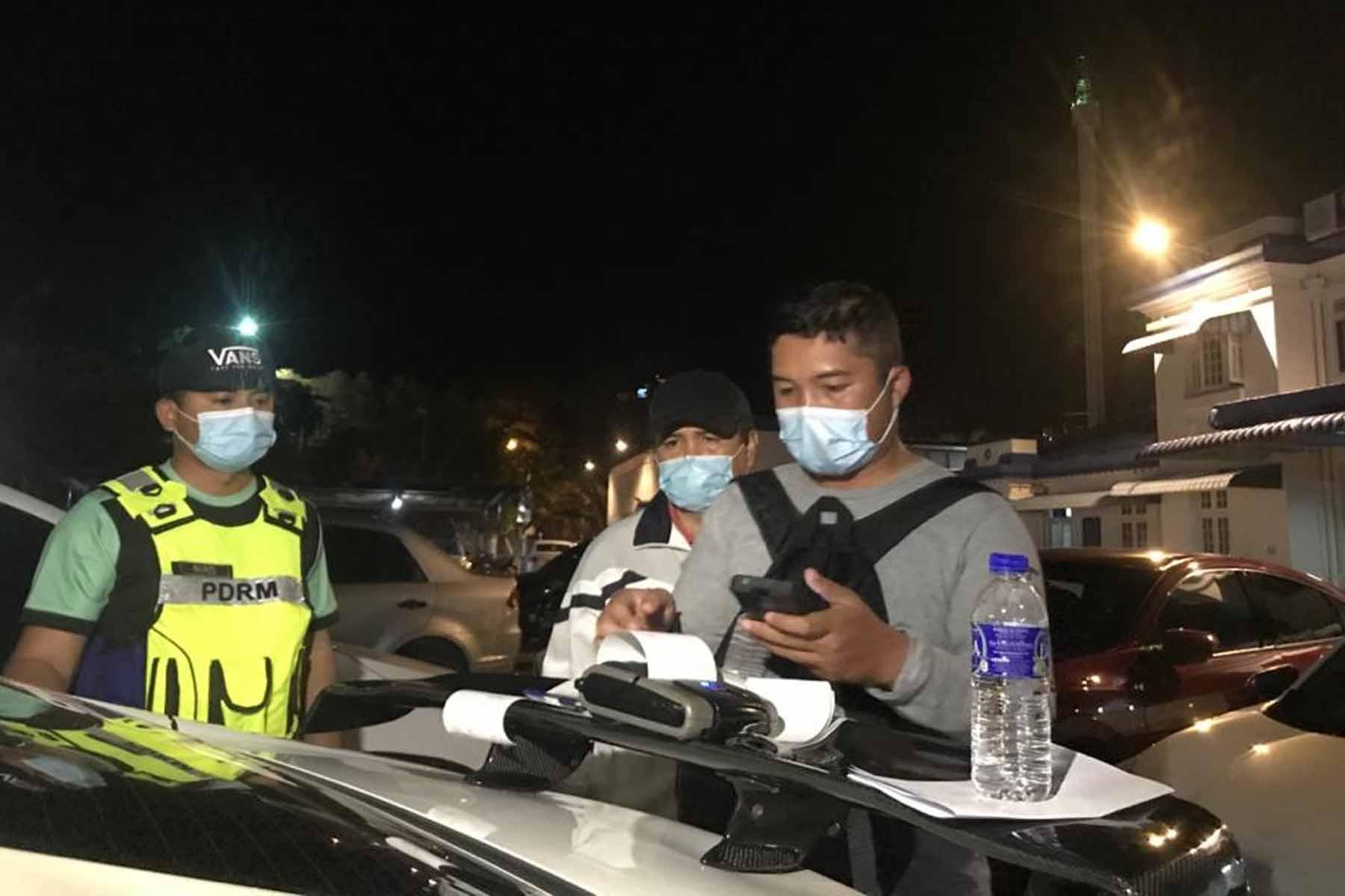 Anggota tentera ditahan kerana berlumba di jalanraya