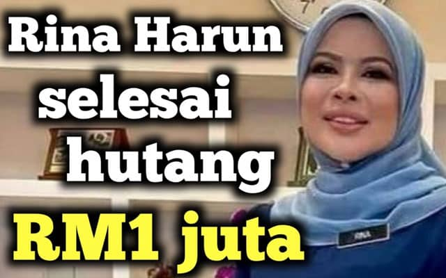 Penjelasan isu hutang Rina Harun