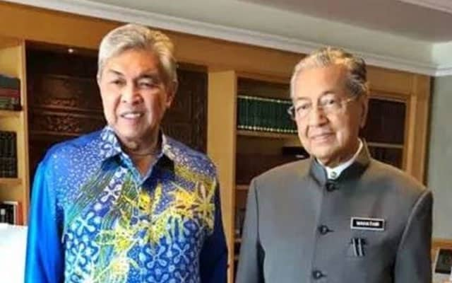 Mahathir semakin hilang hala tuju dalam politik – Zahid
